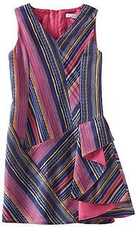 Geometric Stripe Dress