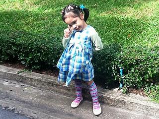 plaid dress for girls