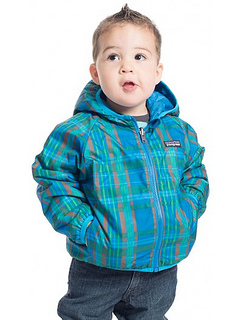 Patagonia Reversible Puff Ball Jacket - Little Boys