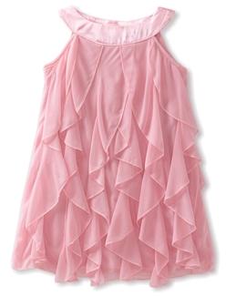 Ruby Rox Kids Girls 2-6X Cork Screw Pink Dress