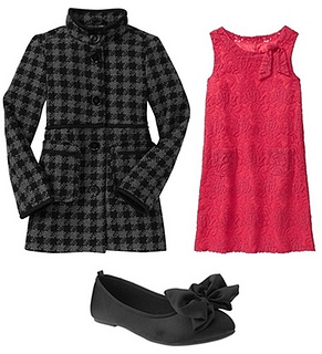 houndstooth coat for girls
