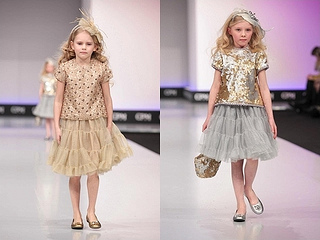 high fashion for little girls Graci fall-winter 2013 sequins