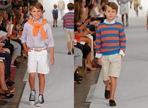 oscar de la renta spring 2012 runway shirts for children boys