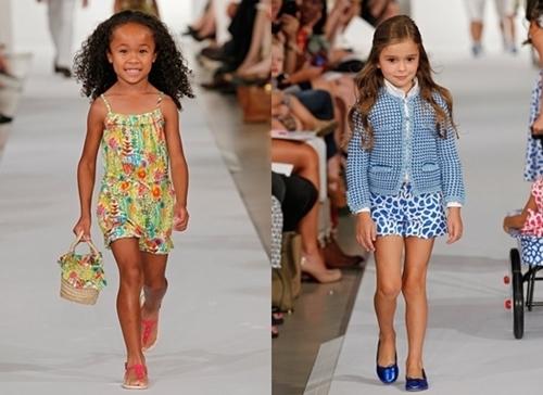oscar de la renta spring 2012 runway shirts for children girls