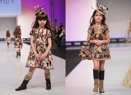 Graci Designer Winter Fashion for Girls