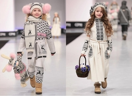 Kaggard Designer Winter Fashion for Girls