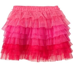 Old Navy Tiered Ombre Tulle Minis For Baby