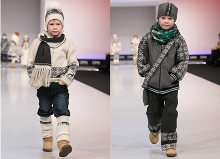 winter fashion for boys - printed sweaters and jackets