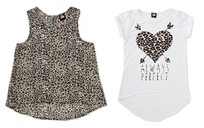 Animal Print Tops for Girls