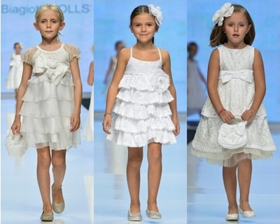 Laura Biagiotti Spring 2013 Dresses for Girls