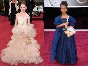 Celebrity Kids Red Carpet Dresses from The Oscars 2013