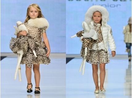 leopard print spring dresses for girls
