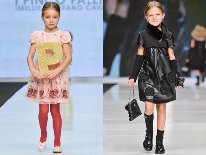 rosette styled spring dresses for girls