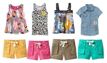 Diane von Furstenberg Tank Tops and Shorts for Girls