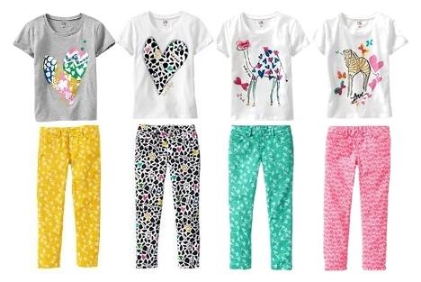 Diane von Furstenberg Tee and Printed Pants for Kids