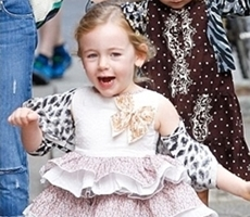Sarah Jessica Parker's daughter Marion in a Tutu