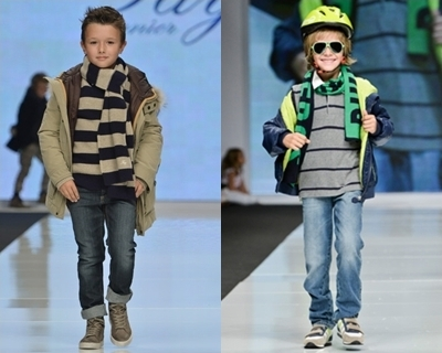runway fashion trend for boys - stripes