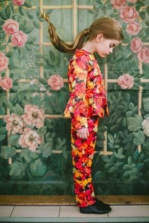 fashion for kids floral print