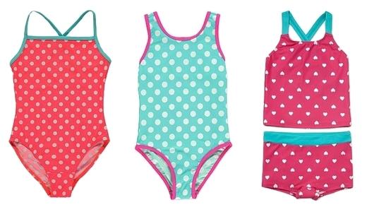 polka dot swimsuits for kids