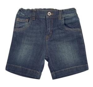 Dolce & Gabbana Cotton Denim Shorts Baby Girls