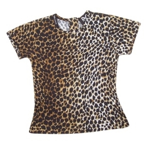 Dolce & Gabbana Junior - Animal Print Cotton T-Shirt