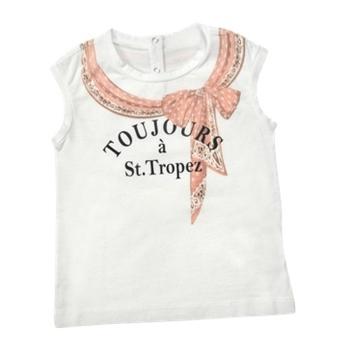 Dolce & Gabbana Junior - Pink Bow Cotton T-Shirt