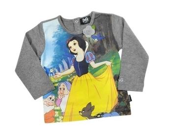 Dolce & Gabbana Snow White Long Sleeve T-Shirt