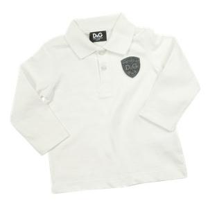 Dolce & Gabbana White Long Sleeve Polo Shirt