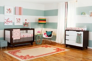 Vote for Layla Grayce Nursery Design to Win $100 Gift Card and Musical Crib Mobile