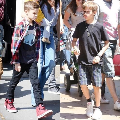 Romeo Beckham Fashion for Shopping