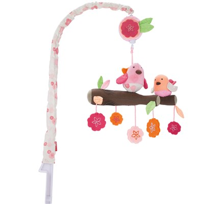 Skip Hop Springtime Birds Musical Crib Mobile