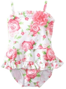 Baby-girls Infant Rose Swimsuit