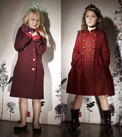 Lanvin Petite Winter 2013: Classy and Dreamy Fashion for Little Girls