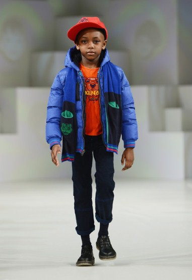 Kenzo colorful winter look for boys