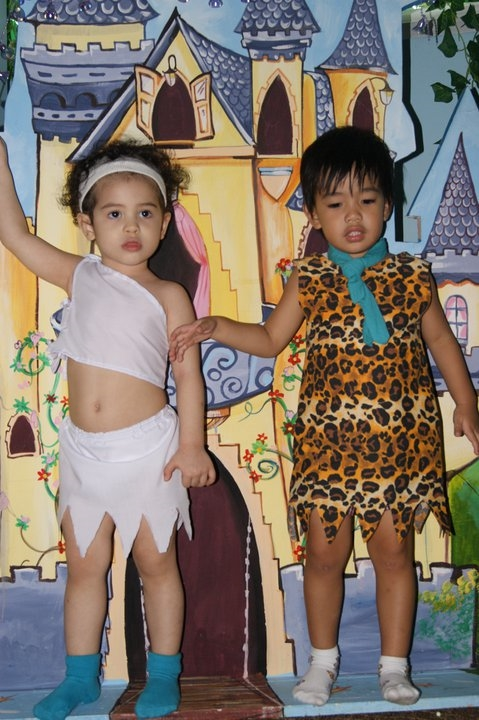 Wilma and Fred Halloween Characters Kids