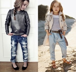 How to Wear Boyfriend Jeans for Young Girls