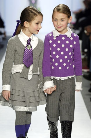 how to wear polka dot for young girls