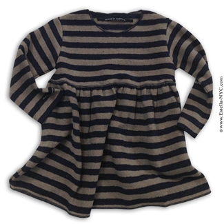 Album di famiglia norry toddler girls striped dress