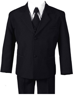 Formal Boys Kids Dress Suit From Baby to Teen