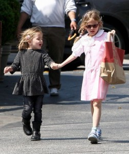 Celeb Kids: Jennifer Garner´s Daughters´ Cute Outfits
