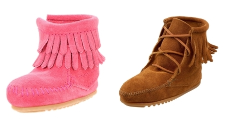 stylish fringe boots for toddler girls