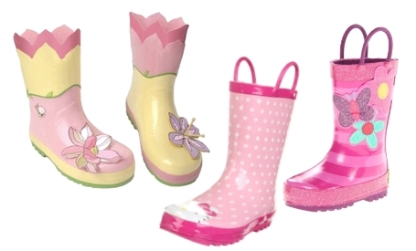stylish rain boots for toddler girls