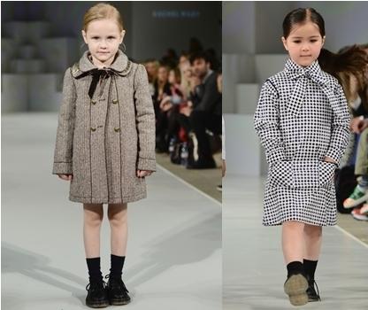 winter fashion coat dresses for girls