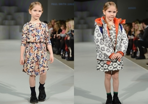 winter fashion floral print for girls