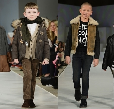 winter fashion sleek dark brown jacket for boys