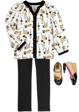 Siamese Style Fashion Girls