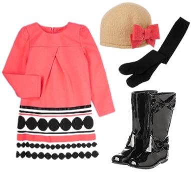 Stripe Ponted Dress