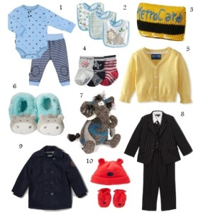 Christmas 2013 Gift Ideas for Baby Boys