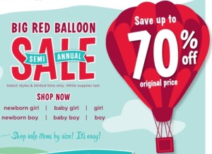 Gymboree Offers Up to 70% off Semi-Annual Sale