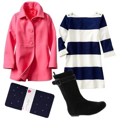 party outfit coat and dress for girls